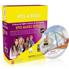 KPSS A Makro İktisat Görüntülü Eğitim Seti 11 DVD