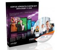 Kürtçe Görüntülü Eğitim Seti Orta Düzey 11 DVD