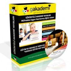 Pratik KPSS Anayasa Vatandaşlık Eğitim Seti 10 DVD + Rehberlik DVD Seti