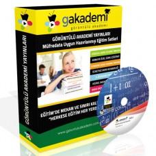 Pratik KPSS Matematik Eğitim Seti 25 DVD + Rehberlik DVD Seti