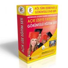 Açık Lise Türk Edebiyatı 2 Eğitim Seti