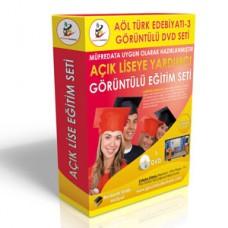 Açık Lise Türk Edebiyatı 3 Eğitim Seti