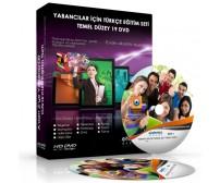 Yabancılar İçin Türkçe Görüntülü Eğitim Seti Temel Düzey 19 DVD