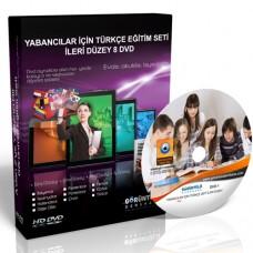 Yabancılar İçin Türkçe Görüntülü Eğitim Seti İleri Düzey 8 DVD