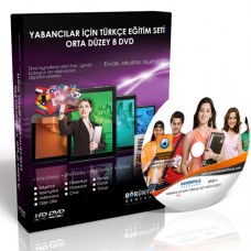 Yabancılar İçin Türkçe Görüntülü Eğitim Seti Orta Düzey 8 DVD
