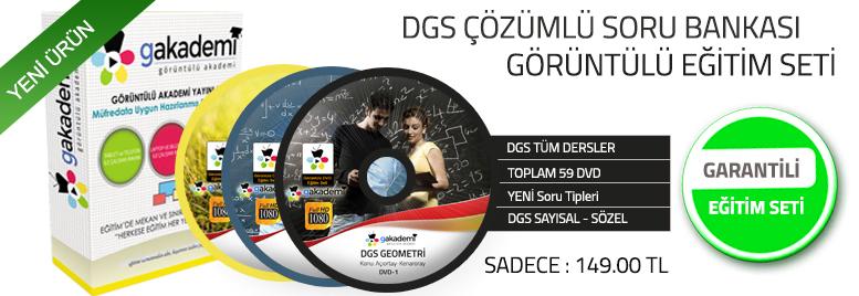 DGS Tüm Dersler Görüntülü Eğitim Seti