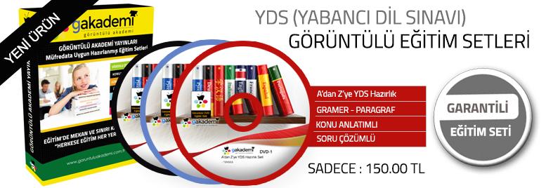 YDS Hazırlık Görüntülü Eğitim Seti